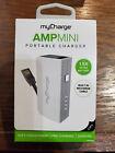 myCharge Amp Mini 2600mAh Portable Charger - White ..