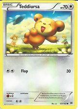 POKEMON CARD XY BREAK THROUGH - TEDDIURSA 121/162