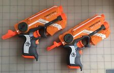 Lot Of 2 Nerf N Strike Elite XD Firestrike Orange Light Beam Targeting