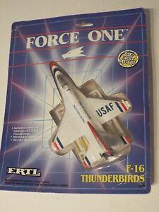 ERTL FORCE ONE 1488 USAF F-16 Thunderbirds, 1989 Die Cast Model NEW