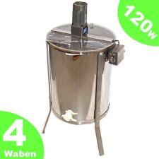 55570 Extracteur Électrique De Miel 4 x Cadres Centrifugeuse Inoxy Apiculture