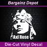 Vinyl Decal .. AXL ROSE .. Guns N' Roses Band Music Laptop Car Sticker Decal