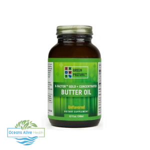 X Factor Gold Butter Oil (Unflavoured)   Green Pasture   240ml   Vitamin K2
