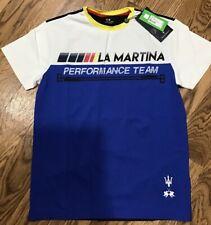 LA MARTINA T-shirt S/S Jersey MURRAY - Performance Team MASERATI - Mens Size M
