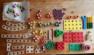 Baufix Holzspielzeug und Heros Constructor * Sammlung *