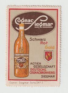 Germany- Cognac Liemar ,poster stamp  very clean NO gum