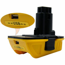 New Dewalt (USB Converter)Battery Adapter DCA1820 10.8V 12V 18V 20V to 18Volt