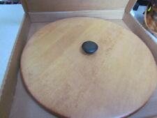 #54411 Longaberger Wooden Lid for Hostess Green Sleigh Bell Basket ~ Mib!