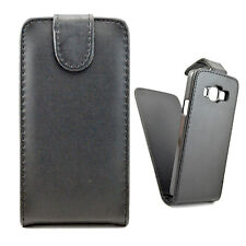 Magnetic Closure Vertical Flip Leather Skin Pouch Case Cover for Samsung Phones