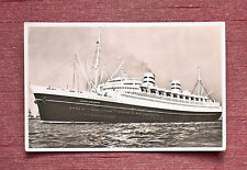 NEW AMSTERDAM STEAMSHIP HOLLAND AMERICA LINE REAL PHOTO