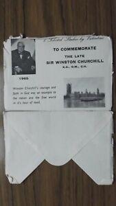 Sir Winston Churchill-Valentine Postcard Envelope 1965