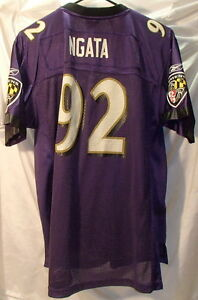 Haloti Ngata Baltimore Ravens Reebok Football Jersey Youth Size XL
