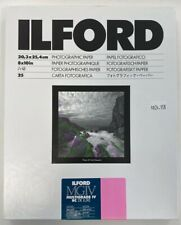 """Ilford 8x10"""" Multigrade IV RC B&W Deluxe Paper 25 Sheets Glossy 1168190"""