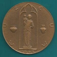 Bronze-Medaille-Tschechien-Znojmo/Znaim-1968-Museum-D-M 71,8 mm=122 Gramm
