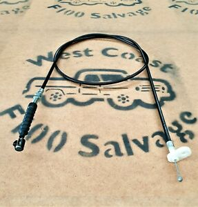 74 - 77 FORD F100 PARTS V8 THROTTLE ACCELERATOR CABLE F250 F350