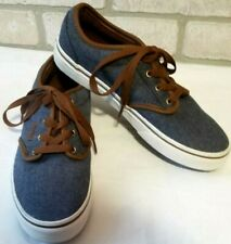 Vans Off The Wall RARE Atwood Skate Denim Shoe Size 3 Youth Unisex Vintage Nwob