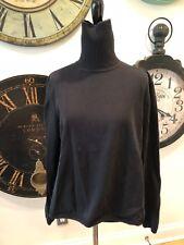 Ladies Talbots Black Turtleneck Sweater Size XL