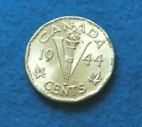 1944 Canada 5 Cents - Super Nice Coin - See PICS