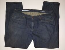 GAP 1969 Straight Dark Wash Blue Jeans RingSpun Denim 100% Cotton 40 x 32 EUC