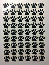 52 x Dog/Cat Paw Prints Vinyl Decal Stickers for wine glasses mugs walls crafts