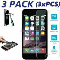 For iPhone 11 Pro Max Xs Max 6 7 Plus XR Tempered GLASS Screen Protector 3×Pack