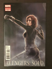 Avengers Solo #3 2011 Black Widow Variant Marvel Comic Book Incentive