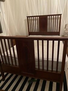 Antique Bed Frame - Double Bed