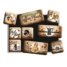 Nostalgie Magnet-Set - Coffee House