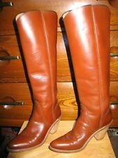FRY Womens leather Boots tall size 6B USA MADE