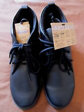 BOYS BLACK LEATHER SCHOOL SHOES BOOTS SIZE 5 EU 38 BLACK LEATHER ANKLE BOOTS NEW