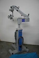 ZEISS OPMI MDI  SURGICAL OPHTHALMIC  MICROSCOPE X/Y Auto Center WARRANTY OPTIONS