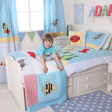 Under The Sea Bedding & Curtain Bundle Set for Childrens / Boys Room by Babyface