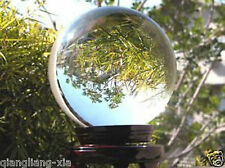New ASIAN QUARTZ Clear Crystal Ball Sphere 60mm + Stand