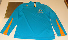 2013 Miami Dolphins Read & React III 1/4 Zip Pullover Jacket L Football NFL