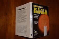 LIBRO PANORAMI DI MAGIA PARAPSICOLOGIA STREGONERIA DEMONOLOGIA LUGLIO 1974