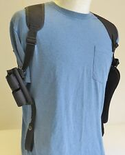 """TAURUS 44 Magnum Large Revolver 8 3/8"""" Barrel Shoulder Holster with Ammo Pouch"""