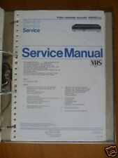 Service Manual Philips VR 6467 Video Recorder,ORIGINAL