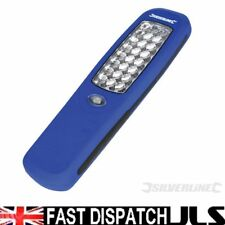 BRIGHT 24 LED HANGING INSPECTION WORK FLASH LIGHT BRIGHT TORCH CAMPING inc 3 AA