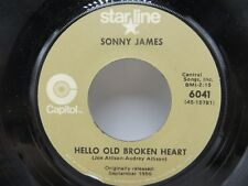 Sonny James - Young Love / Hello Old Broken Heart - Capitol 6041w 45 RPM NM