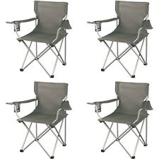 Ozark Trail Regular Arm Chairs, Set of 4 Folding Camping Seat