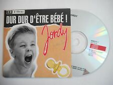 JORDY : DUR DUR D'ETRE BEBE ! ( TECHNO MIX ) ♦ CD SINGLE PORT GRATUIT ♦