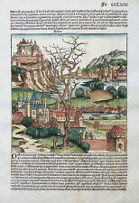 TRACIA THRAKIEN OSTEUROPA BALKAN TÜRKEI SCHEDEL WELT CHRONIK INKUNABEL 1493