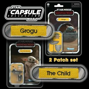 FREE MANDO OFFER!! Vintage Kenner STAR WARSGrogu & The Child name Capsule patch