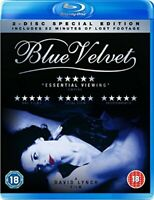 Blue Velvet [Blu-ray] Special Edition inc Lost Footage [DVD][Region 2]