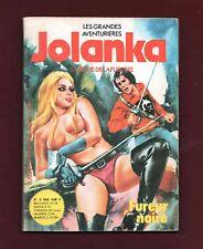 JOLANKA n°3. Fureur noire. Petit format sexy 1977.