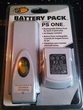 Mad Catz PS ONE Rechargeable Battery Pack for Sony PlayStation 1 PS1 New Sealed