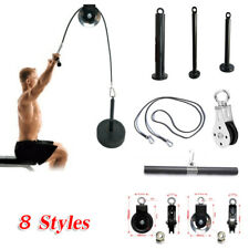 Fitness Home Gym Cable Machine Attachment Muscle Strength Training Accessories