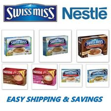 SWISS MISS & NESTLE HOT COCOA MIX BOXES RICH AND CREAMY PACK OF 2 EASY SHIPPING