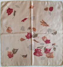 -Superbe Foulard ZENITH  100% soie  TBEG  vintage scarf  65 x 68 cm