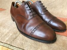RARE Crockett & Jones made in England BURLINGTON 10.5 F US 11 8us shoes oxford